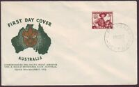 1952 SCOUTING ON GUTHRIE FIRST DAY COVER - UNADDRESSED  (RU0708)