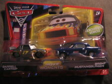 DISNEY PIXAR CARS 2 MOVIE MOMENTS 2-PACK DARRELL CARTRIP & BRENT MUSTANGBURGER
