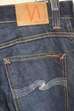 Nudie Jeans Slim Jim Organic Dry Ecru Embo Size 31/32