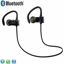 New HiFi Bluetooth 4.1 Headphone Headset Earbuds for Cell Phone Laptop PC Tablet