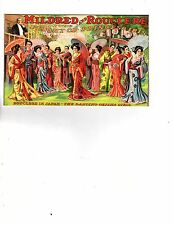 Unframed Art Show Poster Rouclere in Japan dancing Geishas  (258m)