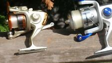2 FISHING SPINNING  REELS SHAKESPEARE AND YUMOSHI EF500
