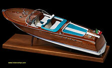 "Gorgeous, new Amati model ship kit: the ""Riva Aquarama"" -Rc Capable!"