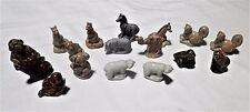 17 Collectible Wade England Animal Figurines