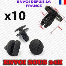 RENAULT ROUE ARCH Doublure SPLASH Guard Trim Spruce Clips Sapin 35 mm Head X10