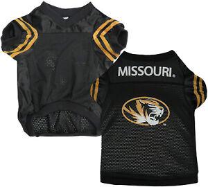 Sporty K-9 NCAA Missouri Tigers Football Dog Jersey