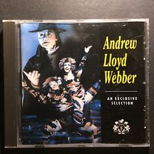 Andrew Lloyd Webber an exclusive selection cd 10 tracks