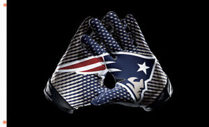 New England Patriots team flag Gloves 90x150cm 3x5ft best banner 100D Polyeste