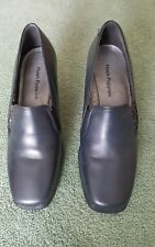 HUSH PUPPIES LADIES NAVY LEATHER GOOD CONDITION PRE- OWNED UK 3