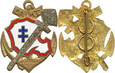 Compagnie Autonome d'Infanterie de Marine, TAHITI, dos guilloché, Drago (7011)