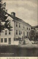 Stonington CT The Amos Palmer House Postcard