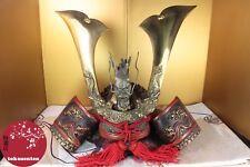 KABUTO SAMURAI DECORATION MADE IN JAPAN MAGNIFICENT 兜 JAPON CASQUE SAMOURAI
