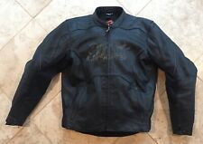 Shift Racing Vendetta Leather Motorcycle Jacket Black Large LG