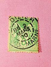 STAMPS - TIMBRE - POSTZEGELS - Republique Française 1898  NR. 84 II (F 130)