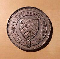 Westham School Board Punctual Attendance 1897 Victorian Medal