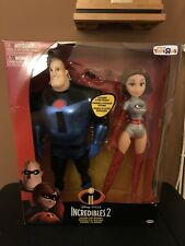 Disney Incredibles 2 Elastic Girl & Mr Incredible Figures Toys R Us Exclusive