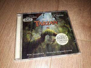 Walt Disney Tarzan Film Soundtrack deutsche Originalversion Phil Collins CD top