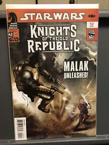 Dark Horse Star Wars Knights of the Old Republic #42 Malak Unleashed!! NM Hot!!