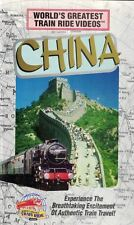 World's Greatest TRAIN Ride Videos CHINA VHS Breathtaking Excitement