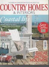 COUNTRY HOMES & INTERIORS MAGAZINE July 2009 Coastal Life AL