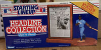 1991 Starting Lineup Headline Collection Featuring Bo Jackson KC Royals SEALED