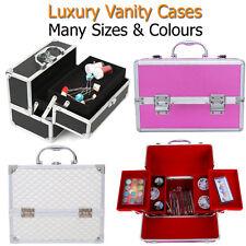 Vanity Case Large Storage Box Make Up Nail Jewellery Hair Salon Holiday Travel