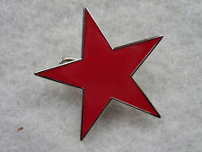 GUNS N ROSES - CHINESE DEMOCRACY - RED STAR LAPEL PIN - Enamel, Novelty/ Message