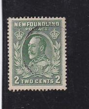 Newfoundland 1932 KGV 2c cds used green  SG223