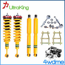 "Toyota Hilux KUN26 4WD HD Shocks + KING Coil Springs 3"" Front 2"" Rear Lift Kit"