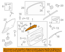 Lincoln FORD OEM 13-16 MKZ-Interior Inside Door Handle Right DP5Z5422600AA