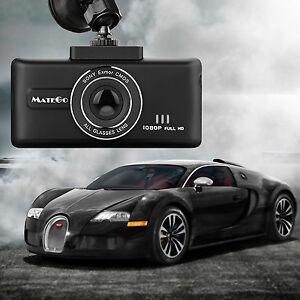 "THE ULTIMATE 2.7"" 1080P FULL HD Vehicle Car DVR Dash Cam Video Recorder G-Sensor"