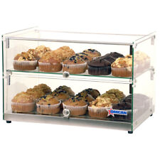 Omcan 44373 Countertop Food Display Case Withsquare Front Glass 22w