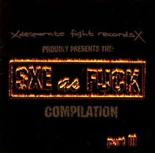 Straight Edge as Fuck CD 1997 Refused Abhinanda Purusam DoughnutsVictory Records