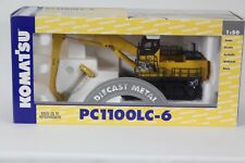 1:50 Scale Joal J244 Komatsu Model PC1100LC-6 Material Handler with Magnet.