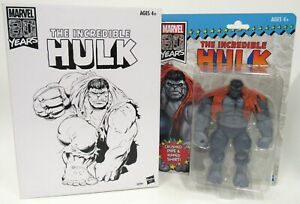 New Hasbro Marvel Legends 80 Years The Incredible Hulk Grey Version With Box