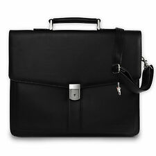 Portfolio case black Shoulder bag Laptop compartment Office Street OTJ108S