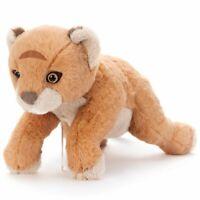 TAKARA TOMY Disney Plush Stuffed Soft Toy The Lion King Live Action Simba 35 cm
