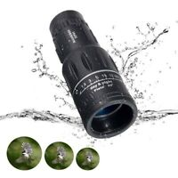 US 16x52 HD Dual Focus Zoom Monocular Telescope Optics BAK4 Prism Night Vision