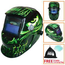 LEO Solar Auto Darkening Welding Helmet Tig Mig Arc Grinding Welders Mask Alien