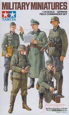 1/35 Tamiya German Field Commander (5 Figures) Set 35298 1/35th Model