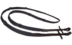 Sparkle Webb Reins For Small Hands Kids Black And Brown