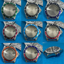 Retro 39.5Mm Stainless Steel Watch Case for Nh35 Nh36 Mechanical Watch Movement