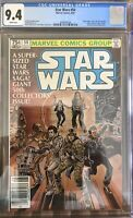 STAR WARS #50 CGC 9.4 1981 MARVEL WHITE PAGES NEWSSTAND VARIANT
