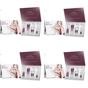 JOICO Defy Damage Shampoo, Conditioner, Masque & Serum Sample Set - 4 PACK