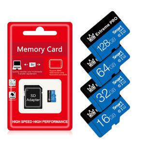 New Micro Sd Card 16GB 64GB 128GB 256GB Memory Smartphones C10 Tf SDHC 10 UHS-1