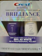 Crest 3D White Brilliance Daily Cleansing And Whitening System Brand New