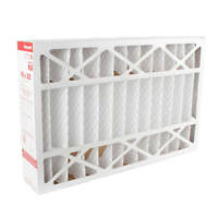 "Honeywell FC100A1029 Pleated Air Filter 16"" x 25"" x 4"", MERV 11- (5 Pack)"
