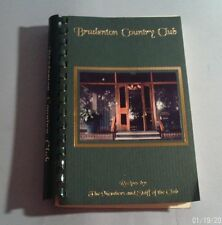 1999 BRADENTON COUNTRY CLUB (Florida) COOK BOOK (Spiral Bound)