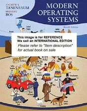Modern Operating Systems by Herbert Bos, Andrew S. Tanenbaum(Int Ed Paperback)4e