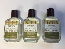 Trader Joe's SPA 100% Australian Tea Tree Oil (3) bottels of 1oz each
